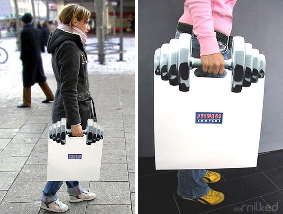 25 Creative Shopping Bag Advertisements | inspirationfeed.com