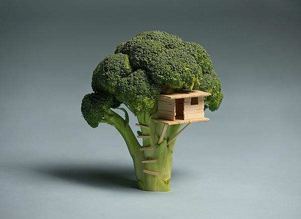 Juxtapoz Magazine - Food Art by Brock Davis