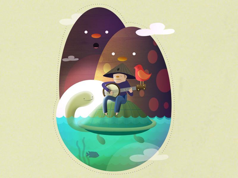 Island lullaby by Camilo Bejarano