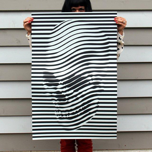 Skulledelic Poster by Noah Scalin | Wantcy