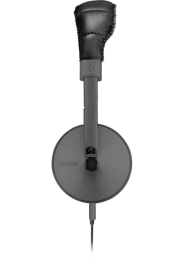 The Nixon Store by Boardco - Nixon Nomadic Headphones in Gunmetal