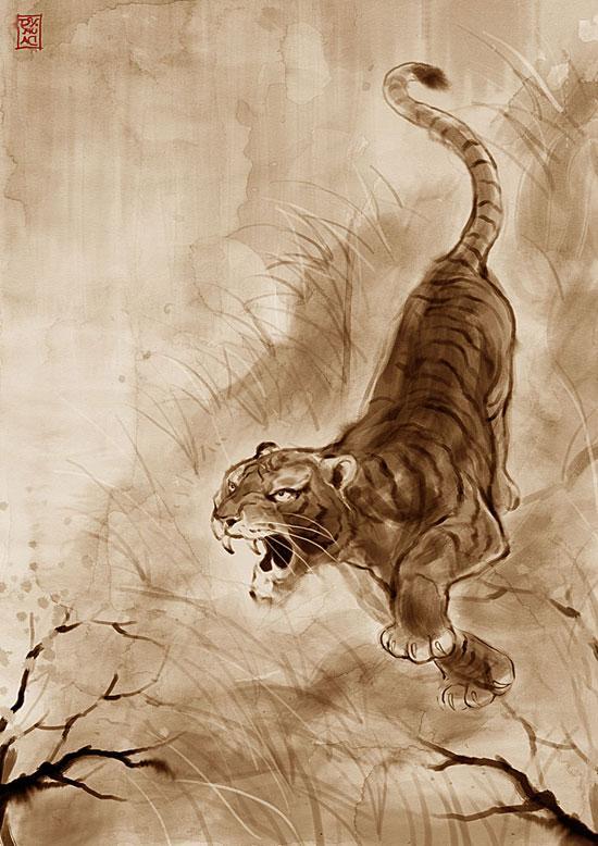 35 Best Tiger Illustration | Petshopbox Studio