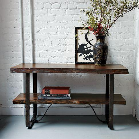 Raw Edge Media Console | west elm