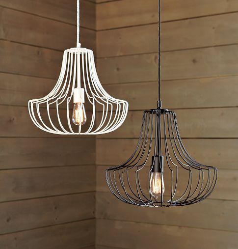 Small Wire Pendants | west elm