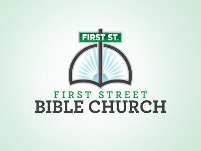 First Street Bible Church Logo by Seth Rexilius
