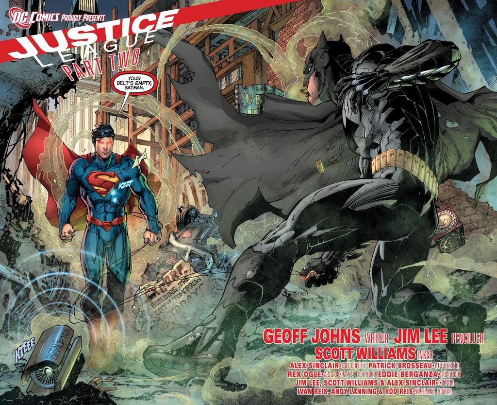 Preview frrom Justice League #2//Jim Lee/L/ Comic Art Community GALLERY OF COMIC ART