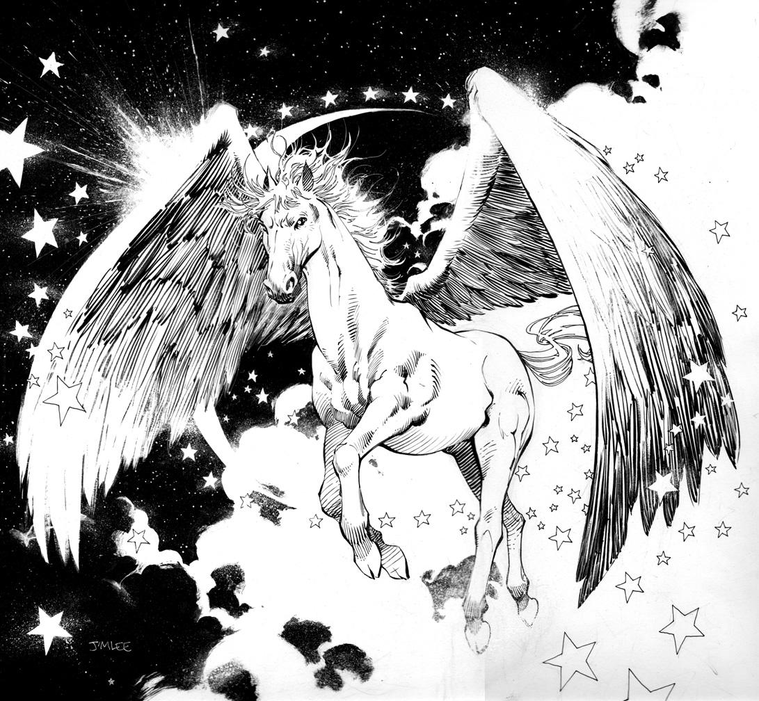 Pegasus//Jim Lee/L/ Comic Art Community GALLERY OF COMIC ART