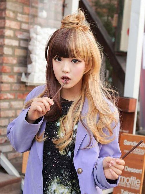 модные корейские прически для девушек