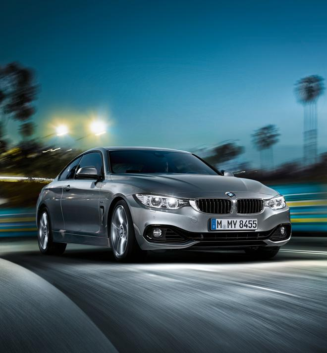 2014 BMW 4 series coupe @ ShockBlast