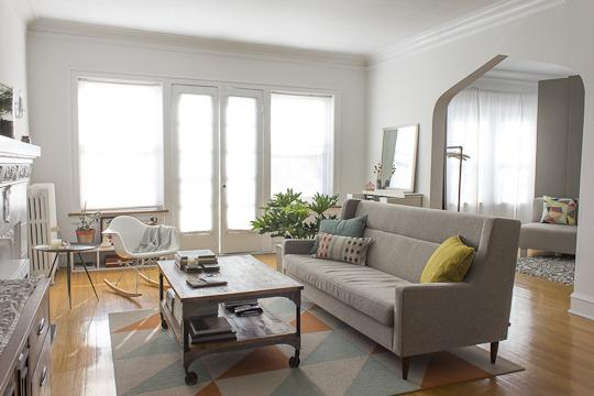 Shop The Room Anne  Steves Modern Pastel Living Room - Apartment therapy living room