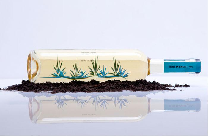 Don Manuel 93 Organic Agave Desilado - The Dieline -