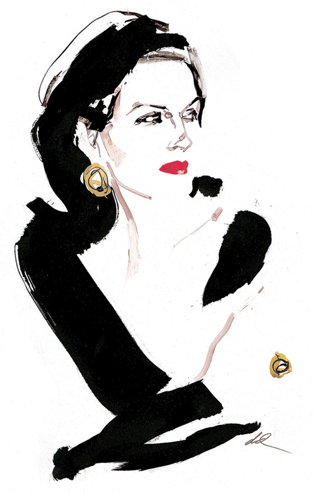 Haute Couture Fashion Illustration – Illustration inspiration on MONOmoda