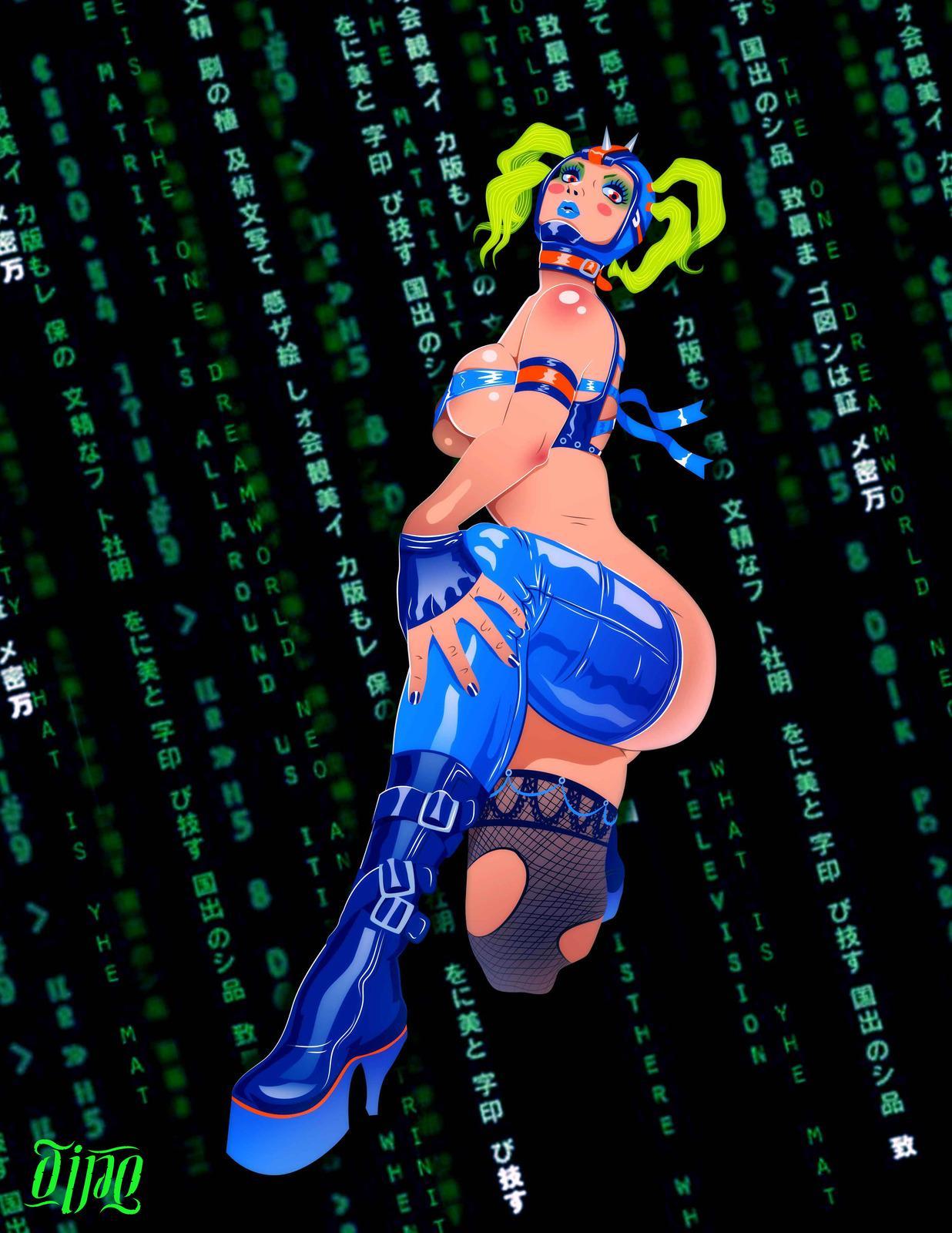 Cyber Girl by Don_Tello - CGHUB