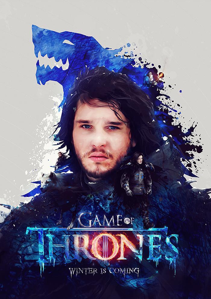 Game of Thrones Posters by Adam Spizak Exclusive on Funkrush + Giveaway | Abduzeedo Design Inspiration & Tutorials