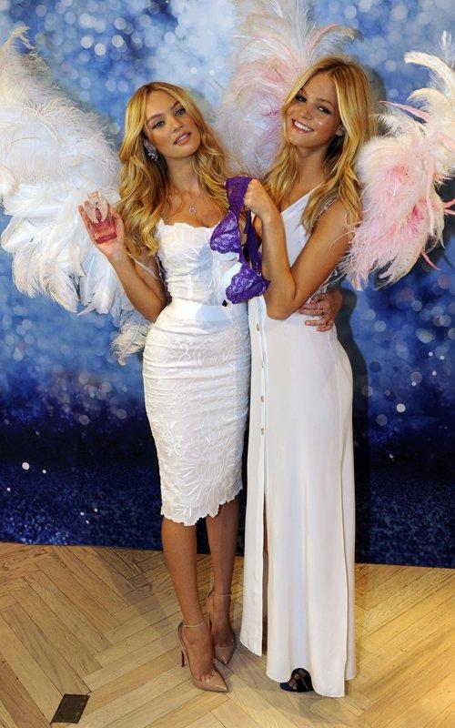 Candice Swanepoel with Erin Heatherton | Celebrity-gossip.net