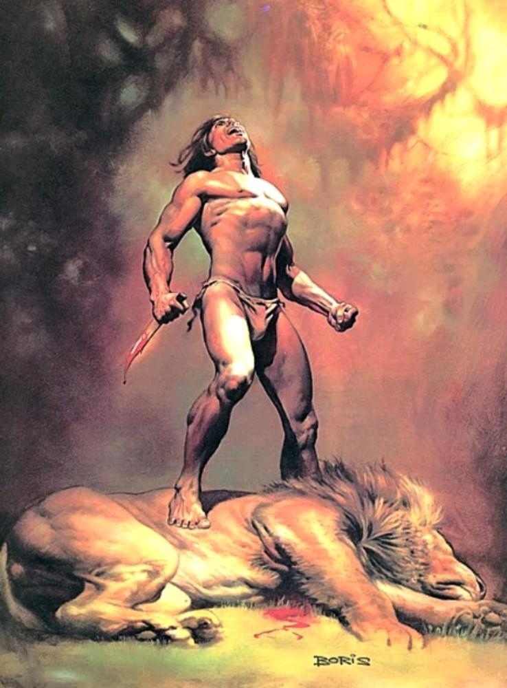 1978/boris_vallejo_78tarzanthemagnificent.jpg - Boris Vallejo' Artwork