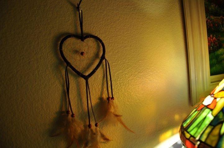 bead, cute, dreamcatcher, feathers, frame - inspiring picture