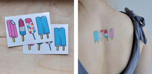 Los tatuajes temporales de Tattly | dadanoias