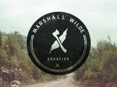 Designspiration — FFFFOUND! | Dribbble - Marshall Wilde logo by Drew Smith
