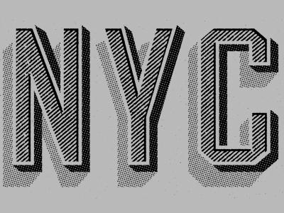 Designspiration — Dribbble - NYC shirt by Two Arms Inc.