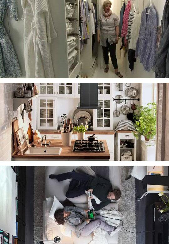 Small Spaces | Apartment Therapy