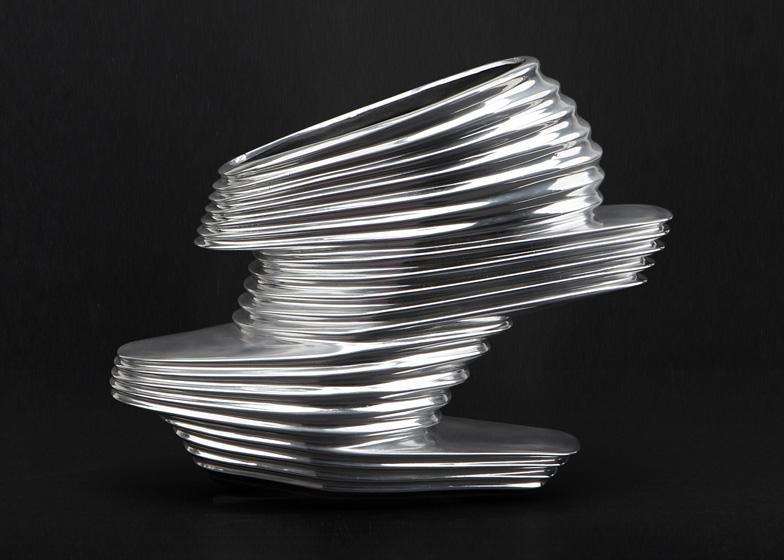 NOVA shoes by Zaha Hadid for United Nude