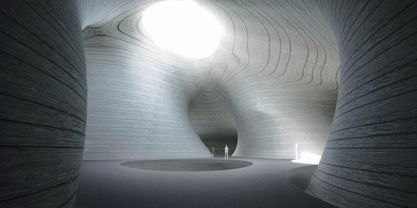 MAD architects break ground on pingtan art museum