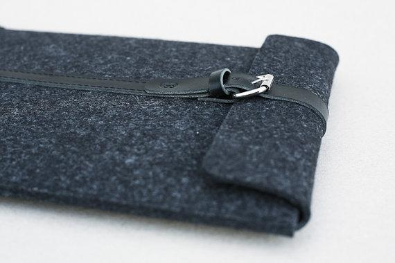 MacBook Air 13 Sleeve Smokey Grey by Cocones on Etsy