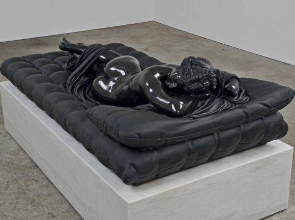 As belíssimas esculturas de obras-primas em mármore negro de Barry X Ball - [Estou sem criatividade para bolar um título bacana]