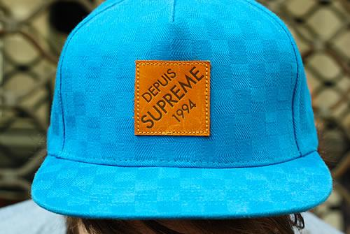 Photo Street Style Casquette Supreme