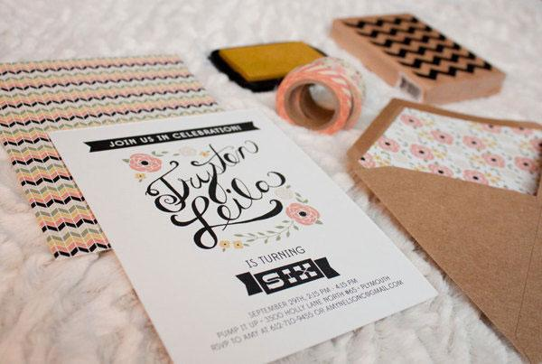 22 wonderful (and well designed) birthday invitations - Blog of Francesco Mugnai
