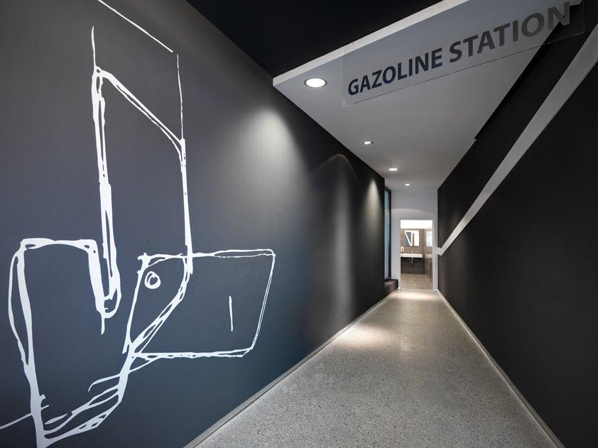 Gazoline Petrol Station Design by Damilano Studio Architects