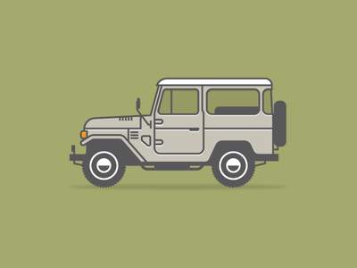 Land Cruiser by Jason Michael Green