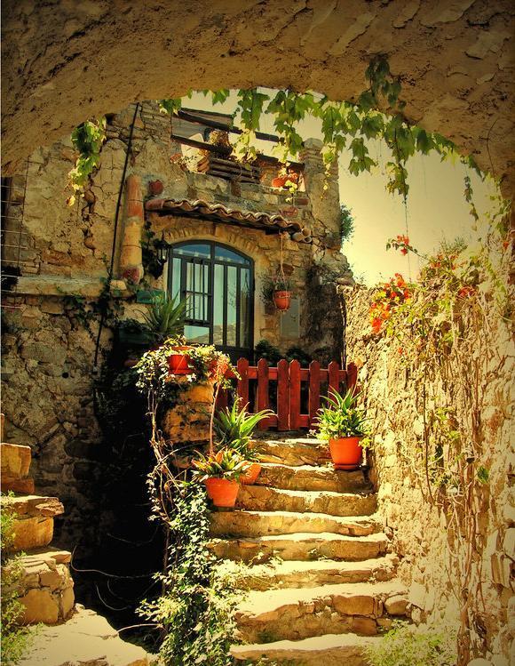Cottage-house-beautiful-walk-way.jpg (580×749)