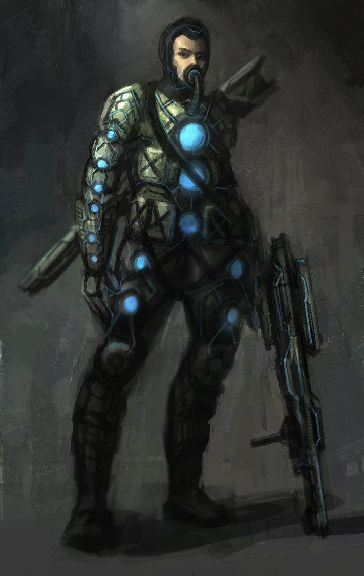Future Soldier by ~e-mendoza