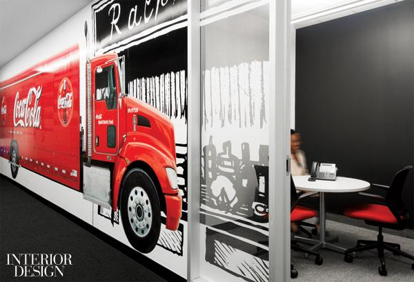 How Sweet It Is: Coca-Cola's Canadian HQ by Figure3   Interior Design