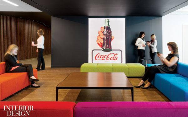 How Sweet It Is: Coca-Cola's Canadian HQ by Figure3 | Interior Design