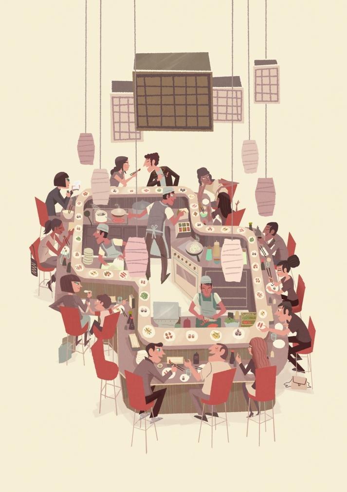 steve scott | illustrators | jelly illustration | jelly