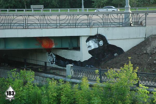 Street Art by Pavel Puhov | Colossal