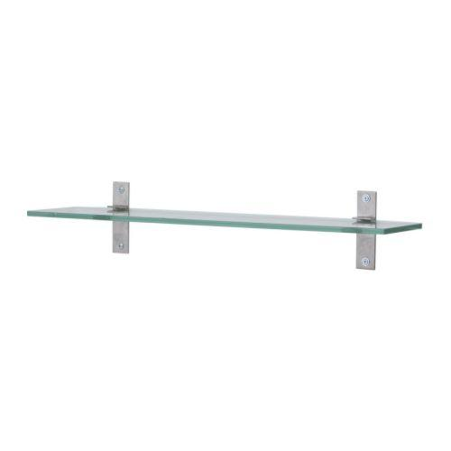 GRUNDTAL Glass shelf - 23 5/8