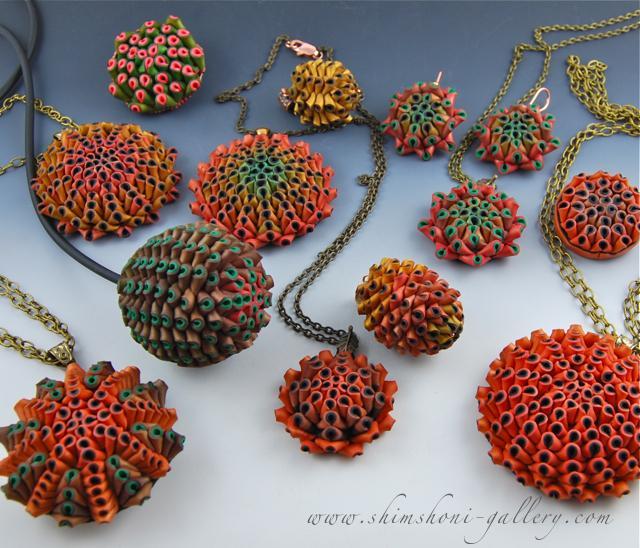 Полимерная глина - Изделия - Много разных ягодок