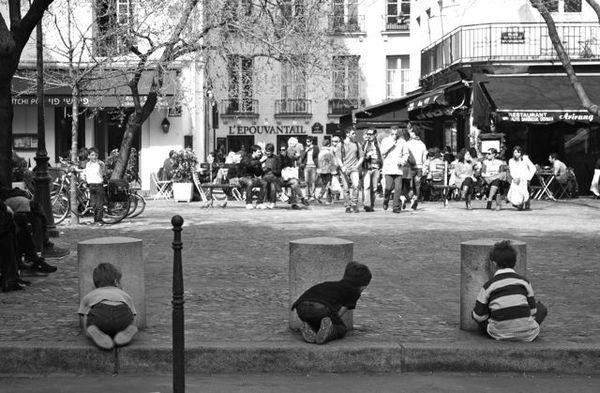 Paris (almost) in B&W