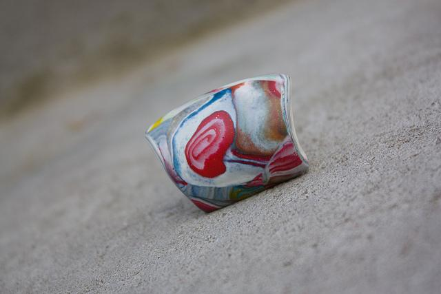 Polymer clay ring | Flickr - Photo Sharing!
