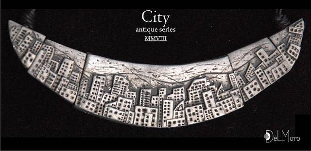 Del Moro's handmade jewelry - City_horizontal - polymer clay fimo | Flickr - Photo Sharing!