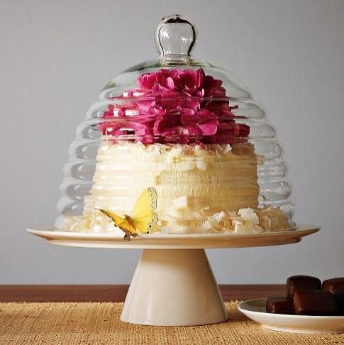 Beehive Cake Stand - eclectic - serveware - - by West Elm