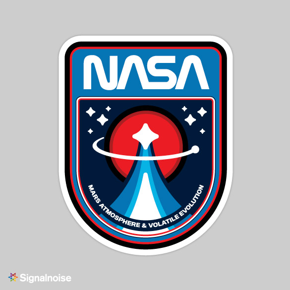Retro NASA Mission Patches - My Modern Metropolis