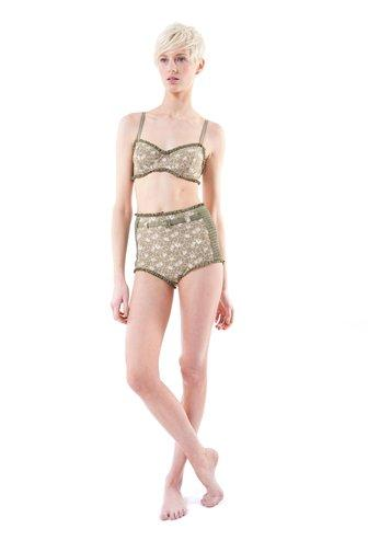 Collette Floral Underwire Bra - MJ63268 - Marc By Marc Jacobs - Womens - Swim - Marc Jacobs