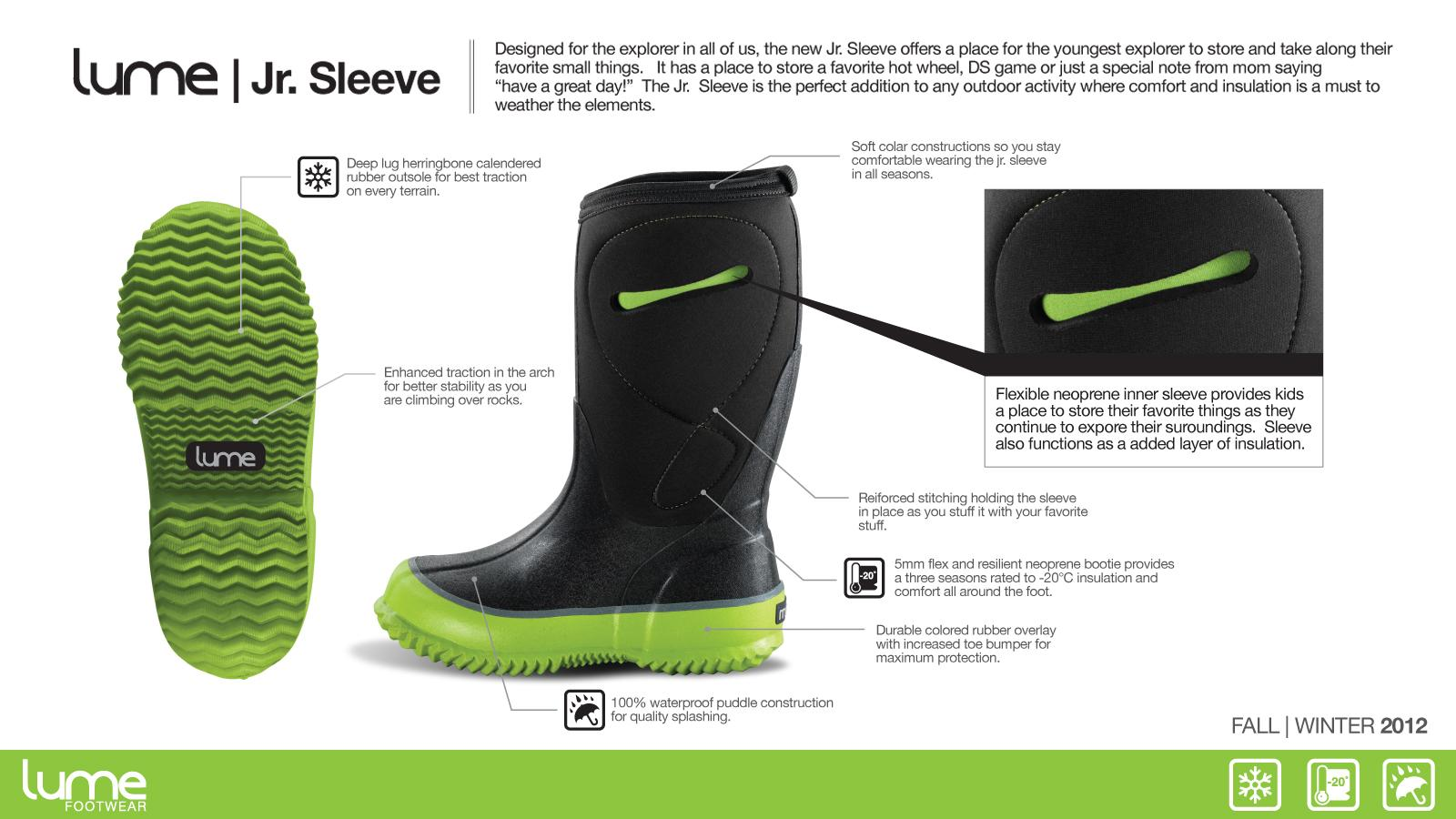 LUME Jr. Sleeve: Footwear Designed for the Junior Explorer by Andrew Estey — Kickstarter