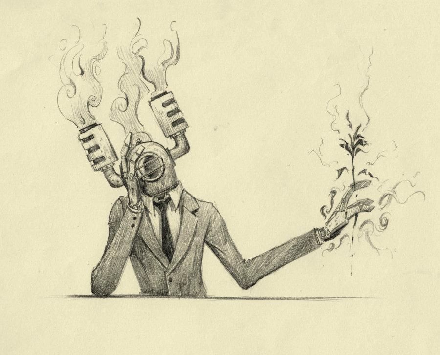 鸟爵对于人生的小冲动7 by 鸟爵_绘画艺术_绘本/漫画_原创设计作品频道 - Powered By 站酷(ZCOOL)