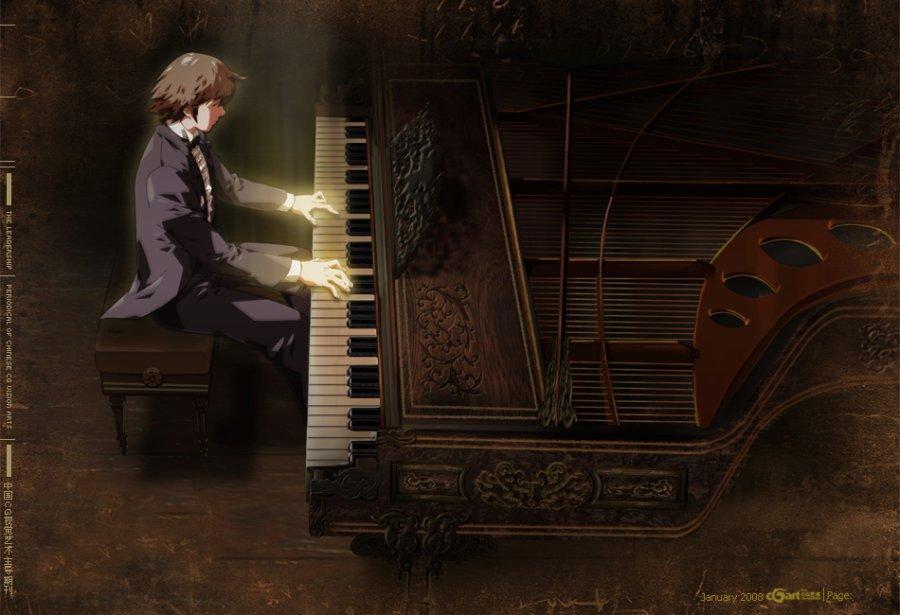 路上的钢琴家——部分气氛稿 by ASK_animation_绘画艺术_基础绘画_原创设计作品频道 - Powered By 站酷(ZCOOL)